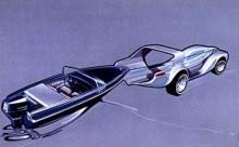 Bilen, båten och Brook Stevens