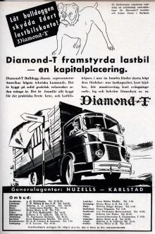 """Vår kunnige Bo legelius bidrog med det här svenska reklambladet från 1938. Här kallas den """"Bulldogg"""" vilket mer var ett samlingsnamn för  alla frambyggda lastvagnar här då."""