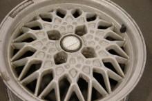 BBS 14-tumsfälgar blir helt rätt på Audi GT:n. Lite ny färg bara så blir de som nya!