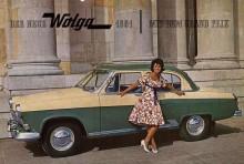 Volga M21 för Tyskland 1961 i snitsig tvåtonslack.