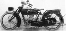 Man försökte sig också på motorcykelproduktion, Thulin 1000-kubikare från1920, väldigt lite är känt om dessa.