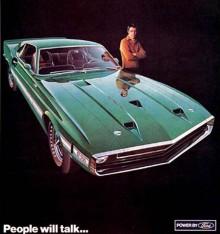 Shelby GT500 1969, nu byggdes dom hos Ford, med rättigheter från Shelby