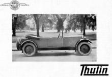 Den avancerade typ B , man hann även distribuera en påkostad broschyr för bilen som aldrig kom i produktion.