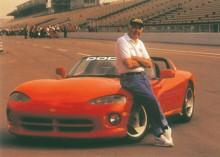 Med Dodge Viper prototypen som körde som pace car på Indy 500 1991