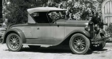Oakland 6-24D sport roadster 1927