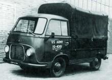 pickup var en av många varianter som fanns på FK1000