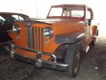 Jeepster 1948, det finns på sin höjd en handfull exemplar i Sverige.