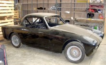 den första Tojeiro-byggda bilen med aluminiumkaross existerar och såldes för ett tag sen på auktion hos H&H i detta skick.