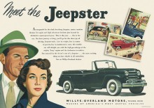 Annons 1948 Jeepster