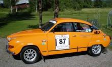 Mats Wassberg, Säffle MC, har renoverat växellådan på sin Saab 96 V4 och är redo för sitt fjärde Midnattssolsrally.