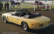 Jensen Interceptor cabriolet kom 1974, 267 stycken byggdes