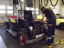Wahlströmsbilen på bilprovningen