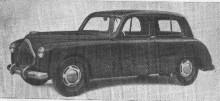 Eucort Victoria Turismo kom 1950 och var en större bil med den större trecylindriga 990cc tvåtaktsmotorn på 31 hästar