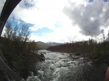 Saabresan del 6 - Riksgränsen och regn
