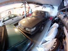 garagekoll hos saabfrände i Eidsdal