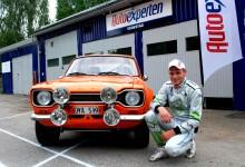 Pontus Tidemand kör Ford Escort
