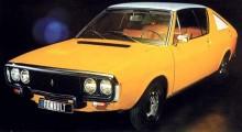 Renault 17 1972, mde mer normala stolar, som lite senare försågs med nackstöd.