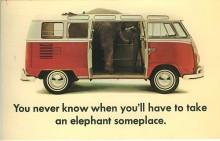 VW med fönsterplatser