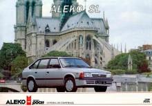 och vad som så småningom blev, Aleko, här från franska broschyren.