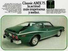Matador coupén hette Classic AMX i Mexico, här från1975.