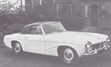 P66 cabriolet som visades upp på London Motor show 1965