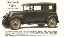 En säregen bilparad 1928