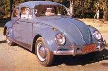 VW typ ett, Fusca även kallad här
