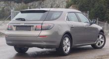 Saab 9-5 kombi kunde ha blivit en vanlig bil i Sverige.