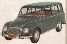 DKW kombin hette Vemaguet, denna från 1966