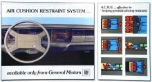 ACRS för Oldsmobile 1974.