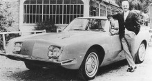 Studebaker Avanti är nog det fordon han mest av allt förknippas med.