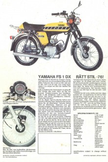 Yamaha FS1-DX - Rätt stil - 76!