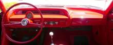 1963 Chevrolet originalet, här med den tuffa varvräknaren man kunde få om man beställde lite mer motor.