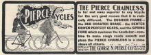 Pierce bicycles 1902