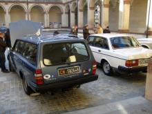Volvo 240 i ett originalskick som sällan syns i bilarnas hemland.