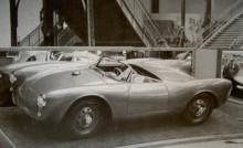 karosserna till 550 Spyder byggdes av Wendler