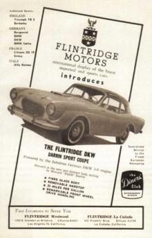Annons 1957 för nya Darrinen.