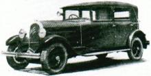 Mer diminutiv tedde sig modell S6, här från 1928.