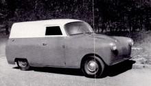 Wagonette, gjord i ett exemplar