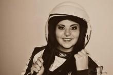 Johanna Malmberg är bara 17 men har kört folkrace i flera år.