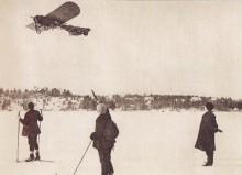 För 101 år sedan på Värtans is.