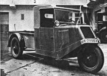 Tempo Front 1933 var en vanligare syn på gatorna.