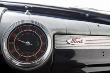 Tydlig instrumentering i Ford -46