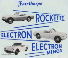 Electron och den bisarra Rockette med tre framlampor 1962.