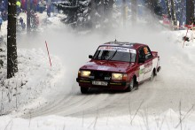 P-O Davidsson tog hem Klass 4 1982-85 med sin Volvo 242 Turbo tillsammans med kartläsaren Eveline Walfridsson.