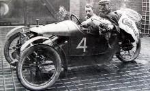 Seger i cyclecar Grand Prix amiens 1913.