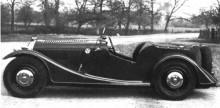 Första fyrhjulingen, Morgan 4/4 1936