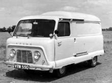 1961 tog Leyland över Standard-Triumph och då fick man också med den snarlika egendomliga Standard Atlas, som bonuskusin.