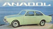 Turkiska Anadol A1 var en Reliantdesign.