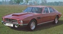 Den okända Lagondan som gjordes i sju exemplar. I stort sett en fyrdörrars Aston Martin V8.